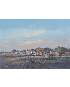 A Sunlit Norfolk Village - SOLD