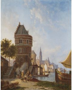 Antwerp Harbour - SOLD