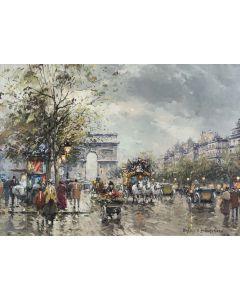 Arc de Triomphe, Paris - SOLD