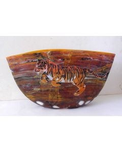 Leaping Tiger Vase Dated 2008