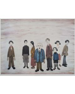 His Family - SOLD