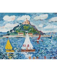 Perfect Day for Sailing - SOLD