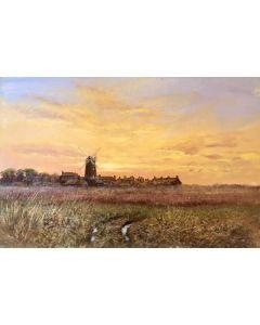 Cley Mill, Norfolk Landscape - SOLD
