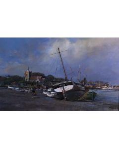 Low Tide, Maldon, Essex - SOLD