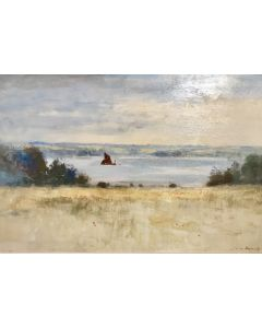 Barge on the Orwell - SOLD